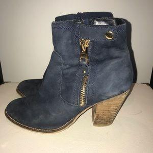 Aldo Blue Suede Boots